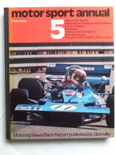 MOTOR SPORT ANNUAL (RACE REPORT) 5 (Gubba 1971)